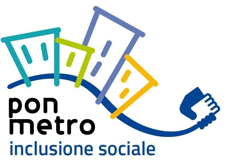 logo pon metro - inclusione sociale